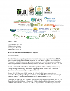 SB 276 Support Letter